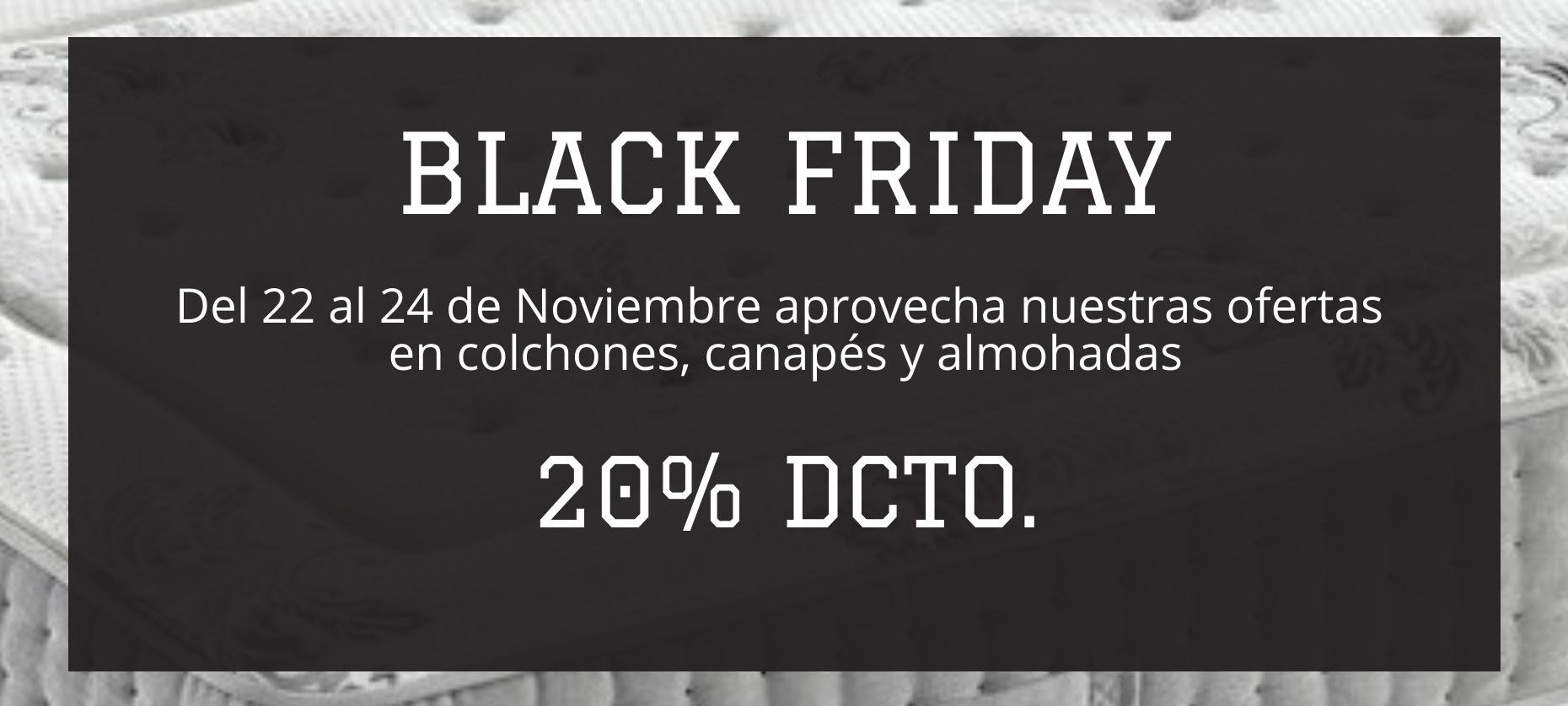 Blackfriday Colchones